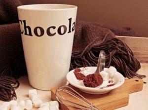 La primera taza de chocolate