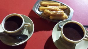 Cuento taziturno: Chocolate con churros